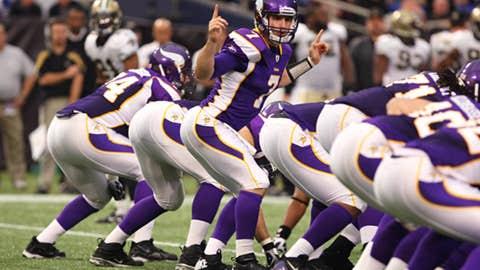 Vikings: 3-13 in 2011; 3rd pick