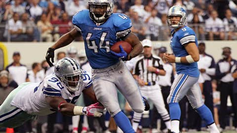 Lions: 10-6 in 2011; 23rd pick