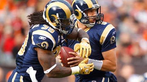 Rams: 2-14 in 2011; 6th pick