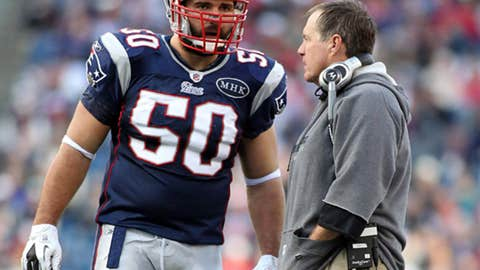 Patriots: 13-3 in 2011; 27th, 31st picks