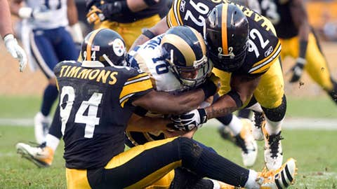Steelers: 12-4 in 2011; 24th pick
