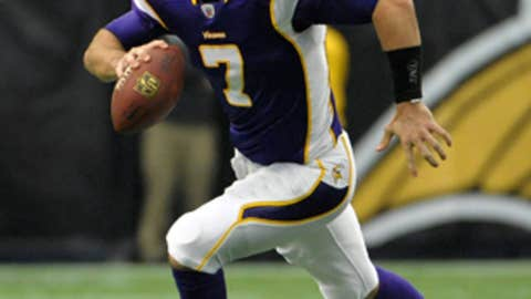 12. Christian Ponder, QB, Vikings