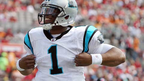 1. Cam Newton, QB, Panthers