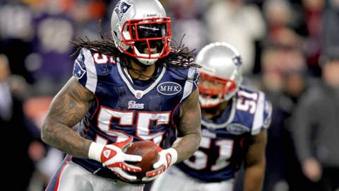 New England: Brandon Spikes, LB