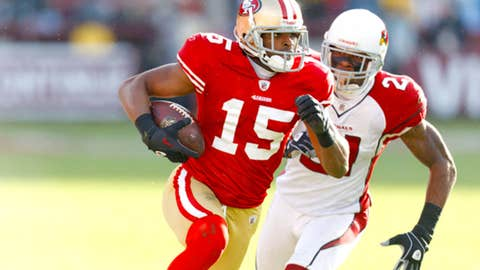 San Francisco: Michael Crabtree, WR