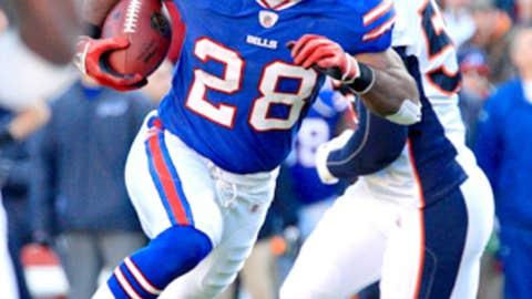 Buffalo: C.J. Spiller, RB