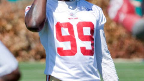 No. 91: Aldon Smith, LB, 49ers