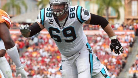 No. 81: Jordan Gross, OT, Panthers