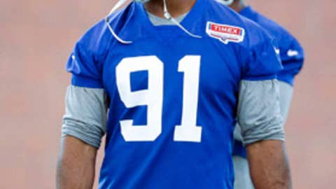 No. 88: Justin Tuck, DE, Giants