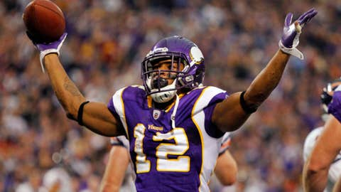 No. 92: Percy Harvin, WR, Vikings