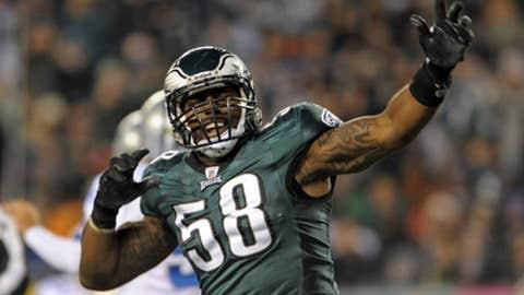 No. 43: Trent Cole, DE, Eagles
