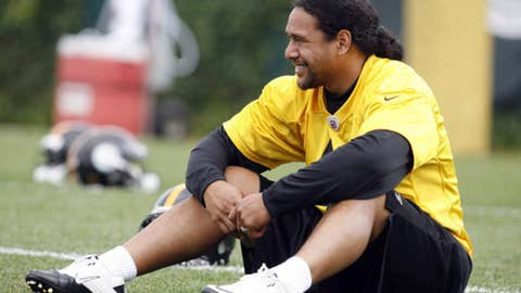 No. 65: Troy Polamalu, S, Steelers