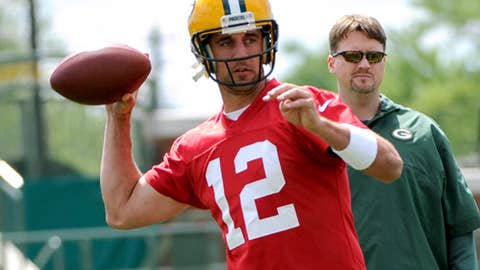 2. Aaron Rodgers, QB, Packers