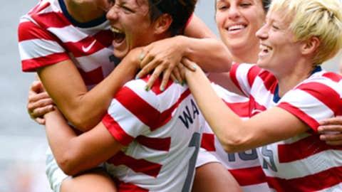 US women win soccer gold