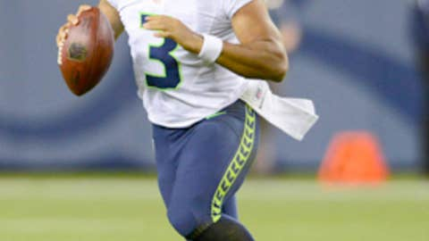 8. Russell Wilson, however, is an NFL quarterback … now