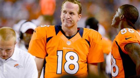 Denver: When will the Manning-led offense start looking like a Manning-led offense?
