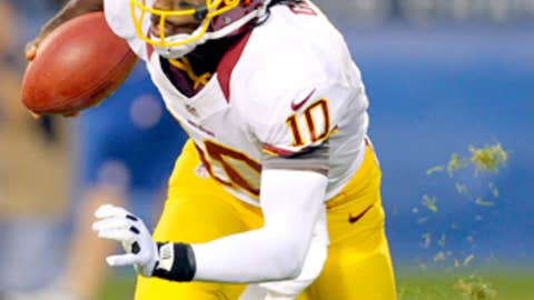 Washington: How does Robert Griffin III compare to Andrew Luck?