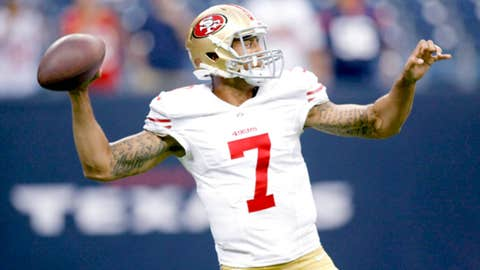 San Francisco: Are we seeing 49ers' future starting QB in Colin Kaepernick?
