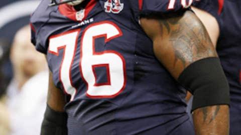 Duane Brown, T, Texans