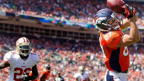 8. Eric Decker could be a no.1 fantasy football wide receiver this season
