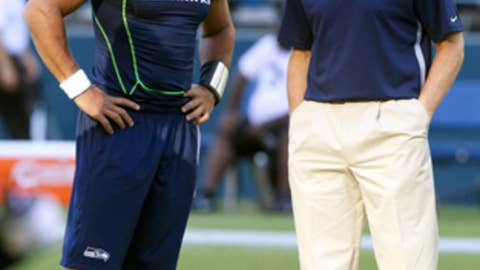 Pete Carroll's risky roll of the dice at QB