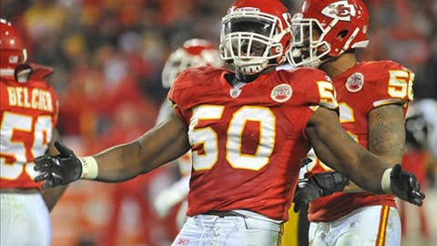 Kansas City: Outside linebacker Justin Houston