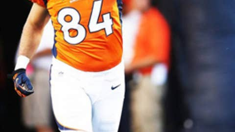 Denver: Tight end Jacob Tamme
