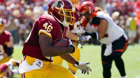 Washington: Running back Alfred Morris