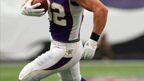 Minnesota: Tight end Kyle Rudolph