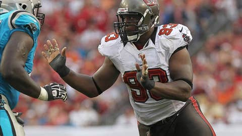 Tampa Bay: Defensive tackle Gerald McCoy