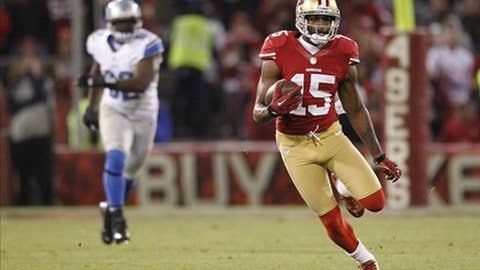 San Francisco: Wide receiver Michael Crabtree
