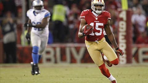 San Francisco: Wide receiver Michael Crabtree