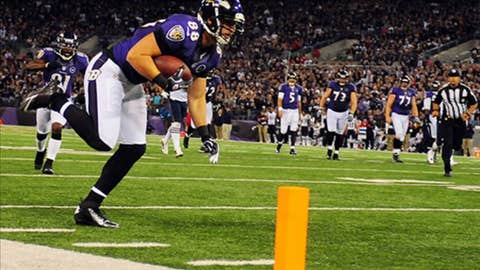 Baltimore: Tight end Dennis Pitta