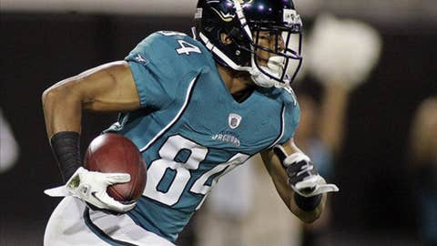 Jacksonville: Wide receiver Cecil Shorts III