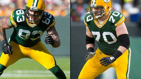 TJ Lang and Tom Crabtree