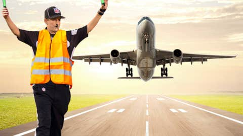 Airport ground crew