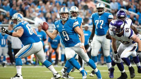 The Lions have been awful since they lost to the Saints in the playoffs last season