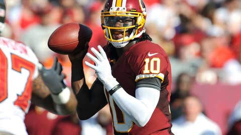 If RG3 stays upright this season, the Redskins could make a run at this NFC East title