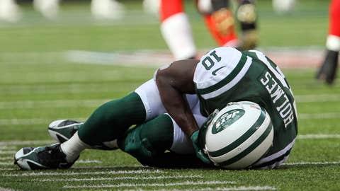 Santonio Holmes, WR, New York Jets