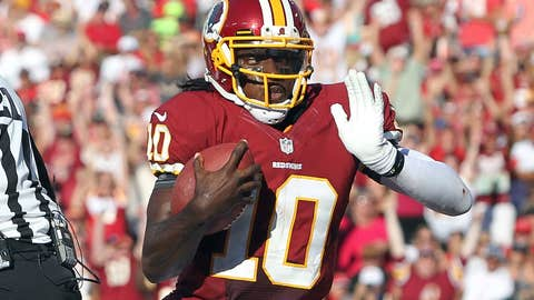 RG3 — Rookie of the Year? Obviously. The MVP? There's a case to be made.