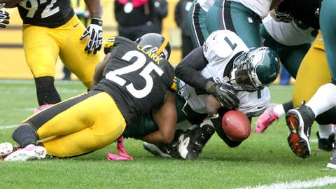 Michael Vick's turnovers finally cost the Eagles