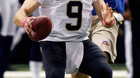 Brees is the new benchmark