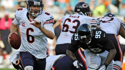 Jay Cutler may be a petulant baby, but he's damn good, too
