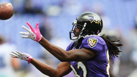 Torrey Smith (Mandatory Credit: James Lang-US PRESSWIRE)