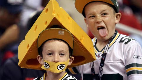Cheeseheads start young