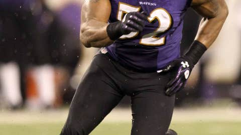 Ray Lewis, LB, Ravens