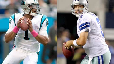 Two quarterbacks desperately need a win down in Carolina this weekend.