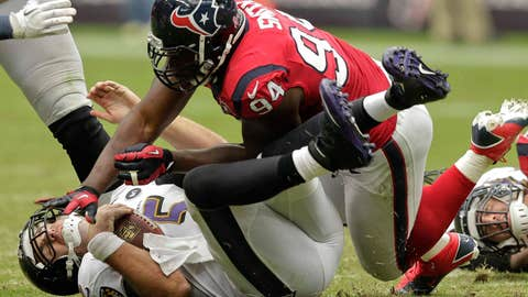 The Texans defense got back on track — and Houston's the class of the AFC