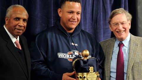 Miguel Cabrera wins MLB's Triple Crown