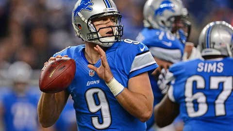 Matt Stafford had a 2011-like effort on Sunday. The Lions need that version every week.